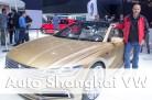 Messebericht Auto Shanghai Weltpremiere VW C Coupé GTE