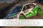 Skoda Fabia R5, Rallye-Einsatzfahrzeug, 1,6 Liter Turbomotor, 280 PS, Gewicht 1230 kg, Allradantrieb