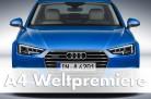 Weltpremiere, Audi A4, Ingolstadt, 2015, die-autotester