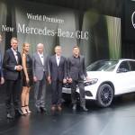 Weltpremiere Mercedes GLC, Stuttgart