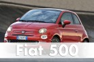 Fiat 500 in Turin. Facelift 2015