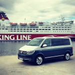 Volkswagen T6 Multivan, Generation Six, Test in Stiockholm