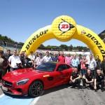 Die Teilnehmer der AMG Driving Experience auf dem Hockenheimring