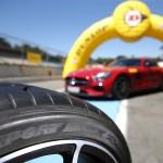 Dunlop Sport Maxx Race vor dem Einsatz.