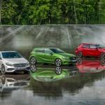 Mercedes-Benz A-Klasse-Modelle 2015