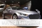 Weltpremiere der Hyundai Studie Vision G in Frankfurt. Foto: Hyundai / http://die-autotester.com