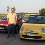 Testfahrt mit Fiat 500 und 500x