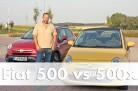 Im Test: Fiat 500 gegen 500x - Cityflitzer vs. Crossover. Foto: http://die-autotester.com