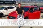 Test des neuen Mercedes-AMG A 45 auf dem Lausitzring