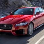 Flott unterwegs im Jaguar XF Modell 2016