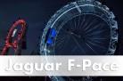 Jaguar verbindet sein 80-jähriges Markenjubiläum mit einem Weltrekord fürden neuen F-PACE. Foto: Jaguar/die-autotester.com