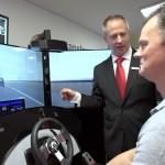 Simulator für Assistens- und Sicherheitssysteme bei Magna