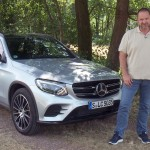 Test Mercedes-Benz GLC Fahrveranstaltung, Elsass 2015