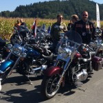 Die Parade der European Bike Week 2015