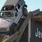 Jeep Wrangler Parkour auf der European Bike Week 2015
