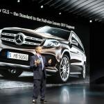 Mercedes-Benz GLS Weltpremiere auf der LA Auto Show