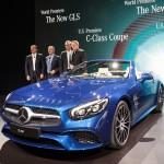 Weltpremiere des Mercedes-Benz SL auf der Los Angeles Auto Show