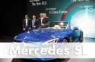Mercedes-Benz SL Präsentation auf der LA Auto Show