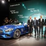 Weltpremiere des Mercedes-Benz SL auf der LA Auto Show
