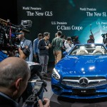 Mercedes-Benz SL Weltpremiere auf der Los Angeles Auto Show (LAAS) 2015Mercedes-Benz at the Los Angeles Auto Show (LAAS) 2015