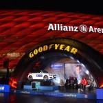 Neue Partner: Bayern München und Goodyear.