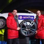 Frank Ribéry und Philipp Lahm fahren zukünftig auf Goodyear-Reifen