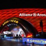Partner: Bayern München und Goodyear.