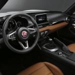 Innenraum des Fiat 124 Spider, 2015