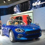 Weltpremiere des Fiat 124 Spider in Los Angeles