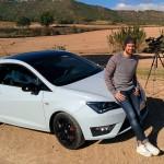 Tom Beck testet den Seat Ibiza Cupra Modell 2016