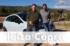 Tom Beck und Brian Hayes testen den Seat Ibiza Cupra