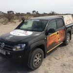 Durch die Kalahari im VW Amarok