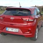 Hyundai i20 Coupe: Gutes Platzangebot trotz sportlicher Form