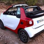 smart Cabrio 2016 mit Stoffverdeck