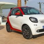 smart Cabrio Modell 2016 in Valencia