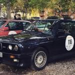 BMW M3 E30 Cabrio in der Startaufstellung