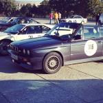 Das BMW M3 Cabrio wirkt auch neben dem BMW M1