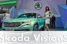 Weltpremiere der SUV Studie Skoda VisionS auf dem Genfer Autosalon. Foto: http://die-autotester.com