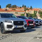 Jaguar F-Pace Testwagen Flotte