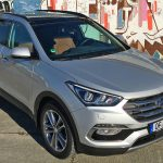 Hyundai Santa Fe 2016: Neu sind Grill und Scheinwerfer