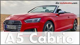 Audi S5 Cabrio 2017 Audi A5 Cabrio 2017 Test & Fahrbericht im spanischen Cádiz. Quelle: http://die-autotester.com