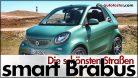 Die schönsten Straßen: smart Brabus Cabrio 2017 auf Sylt. Foto: http://die-autotester.com