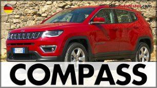 2017 Jeep Compass Test & Fahrbericht. Foto: http://die-autotester.com