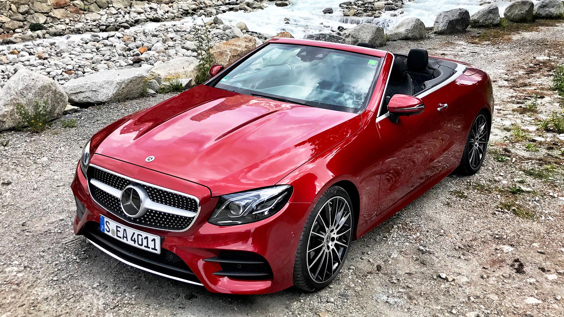 Mercedes E Klasse Cabriolet Fahrbericht Meiner Probefahrt Im