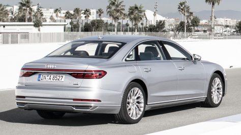 2017 Audi A8 L 3.0 TFSI quattro Test & Fahrbericht.  Foto: Audi / http://die-autotester.com