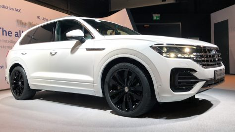 2018 Volkswagen VW Touareg Modell 2019. Foto: Jens Stratmann / http://die-autotester.com