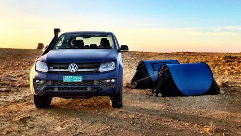 Amarok Adventure Tour 2018 im Oman. Foto: http://die-autotester.com