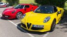 Alfa Romeo 4C Passion Meeting 2018 in Interlaken. Foto: die-autotester.com
