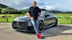 Mercedes-AMG GT 63 S 4MATIC+ 4-Türer