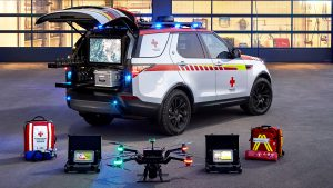 Rover Discovery - Mobile Einsatzzentrale